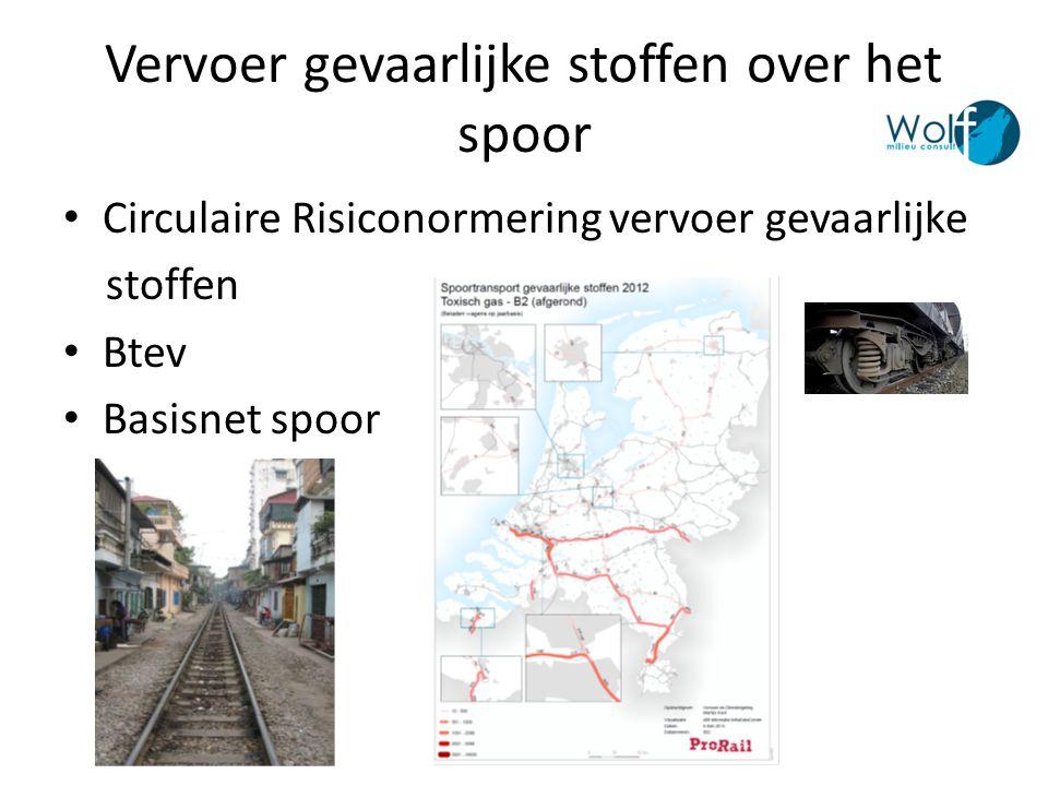 Vervoer gevaarlijke stoffen over het spoor