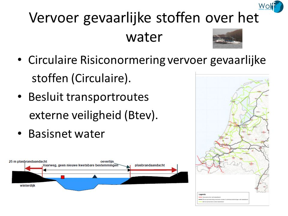Vervoer gevaarlijke stoffen over het water