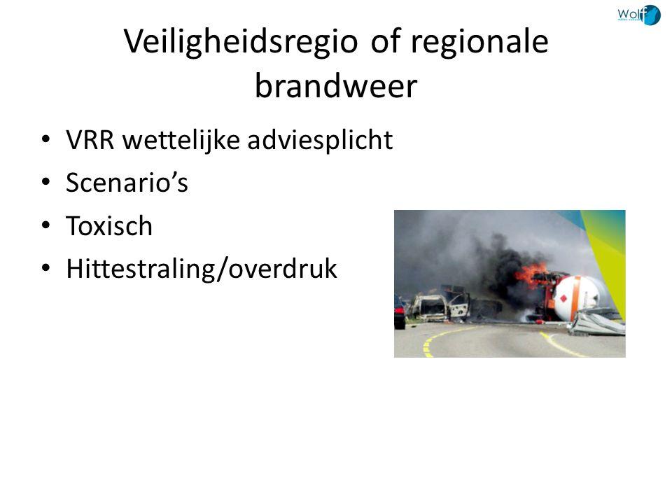 Veiligheidsregio of regionale brandweer