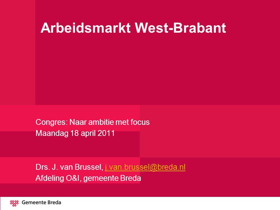 Arbeidsmarkt West-Brabant