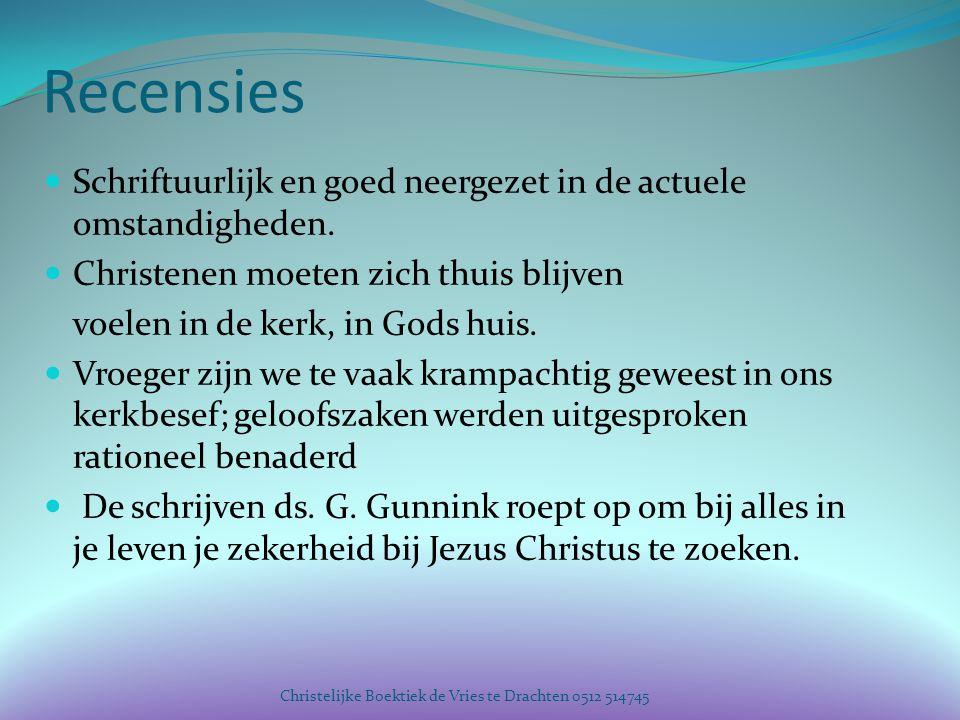 Recensies Schriftuurlijk en goed neergezet in de actuele omstandigheden. Christenen moeten zich thuis blijven.