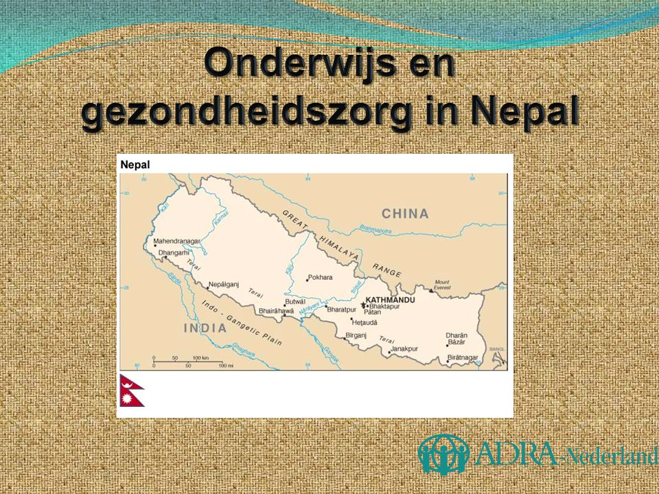 Onderwijs en gezondheidszorg in Nepal