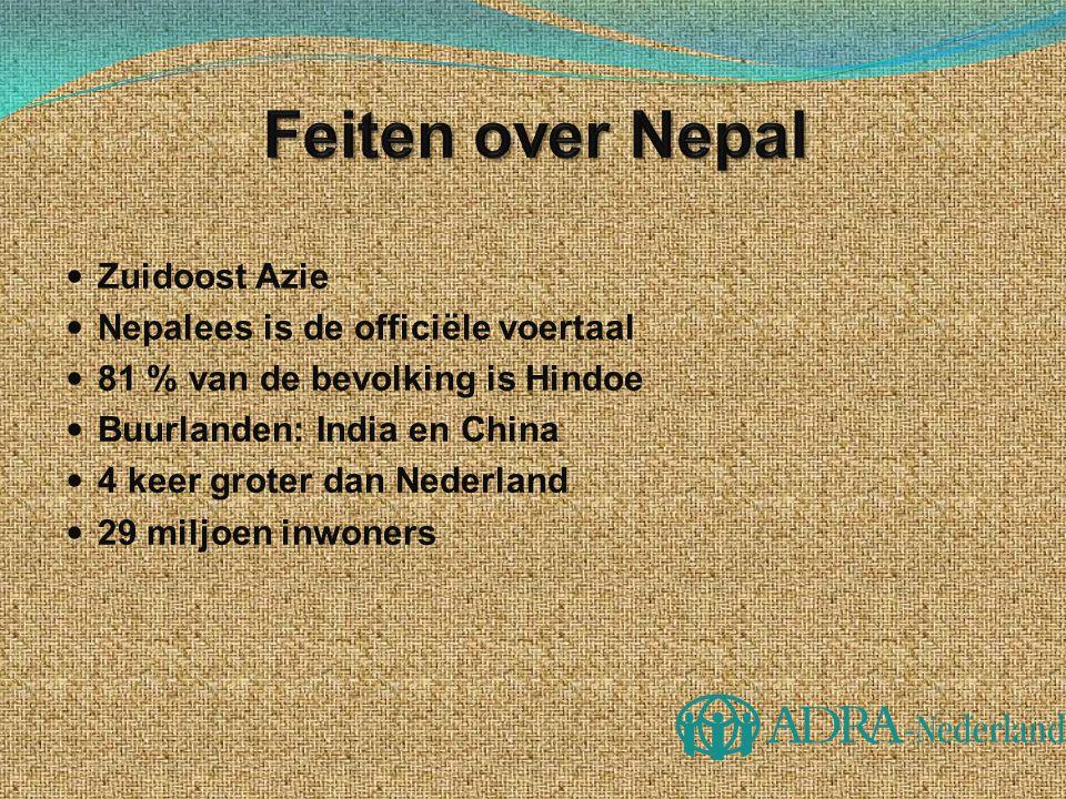 Feiten over Nepal Zuidoost Azie Nepalees is de officiële voertaal