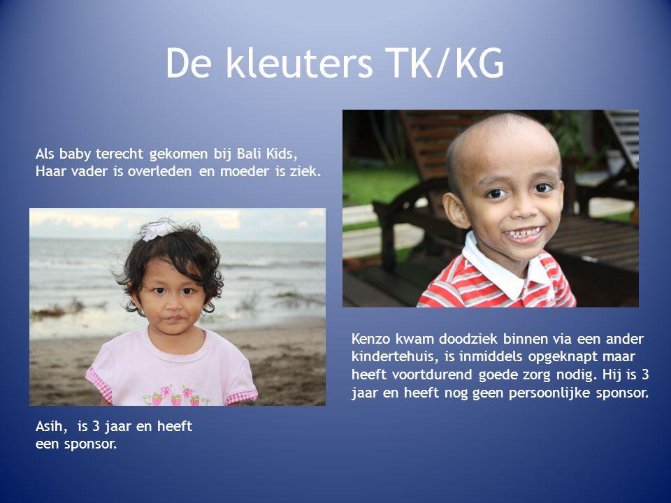 De kleuters TK/KG Als baby terecht gekomen bij Bali Kids,