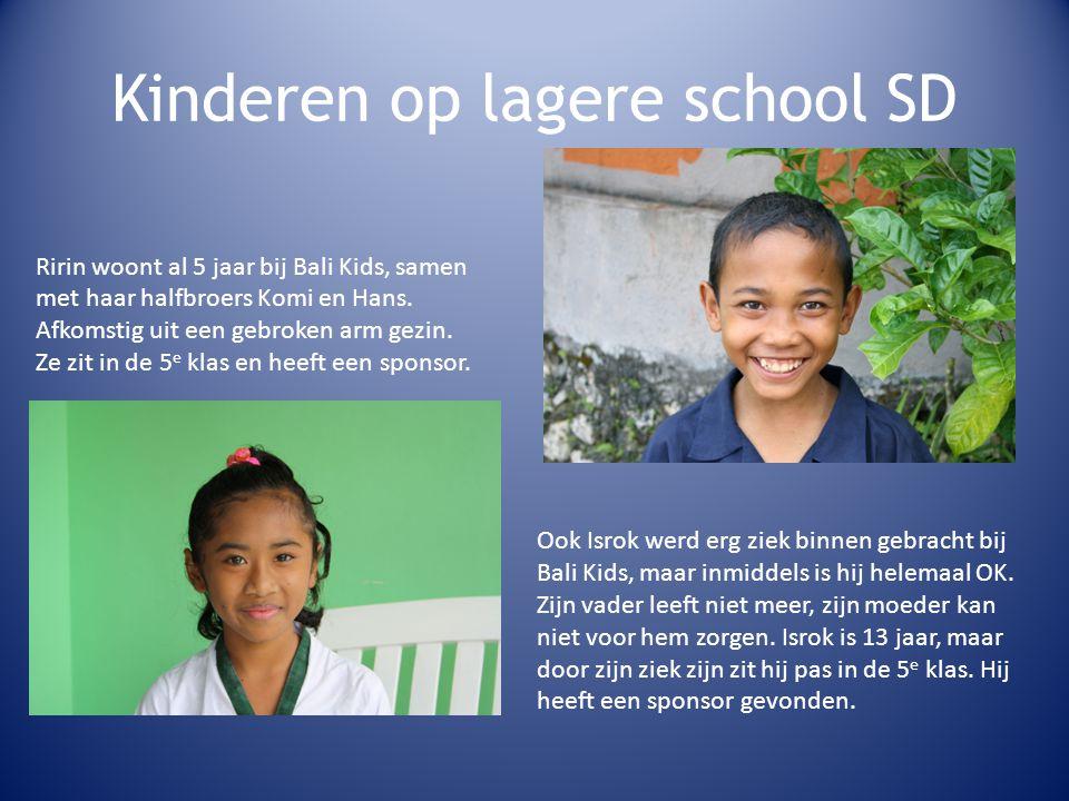 Kinderen op lagere school SD