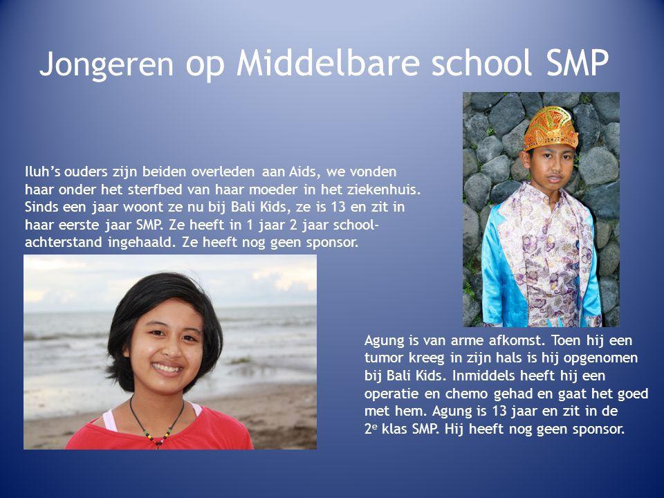 Jongeren op Middelbare school SMP