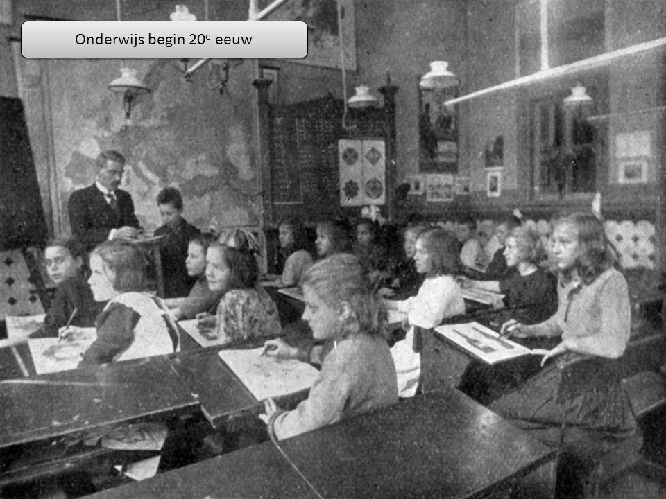 Onderwijs begin 20e eeuw