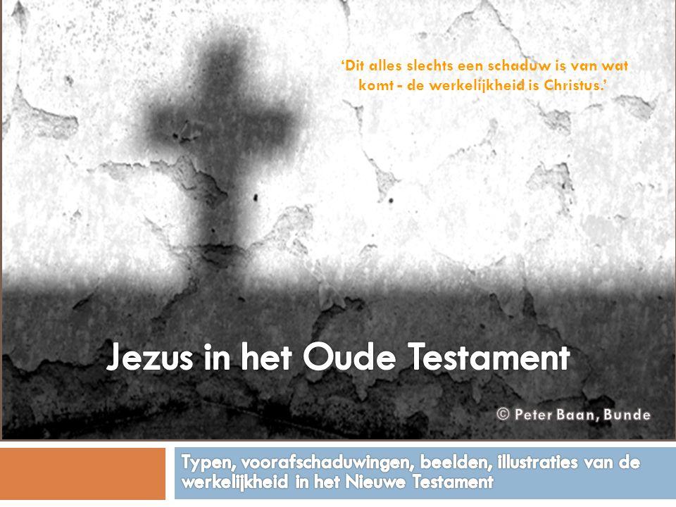Jezus in het Oude Testament