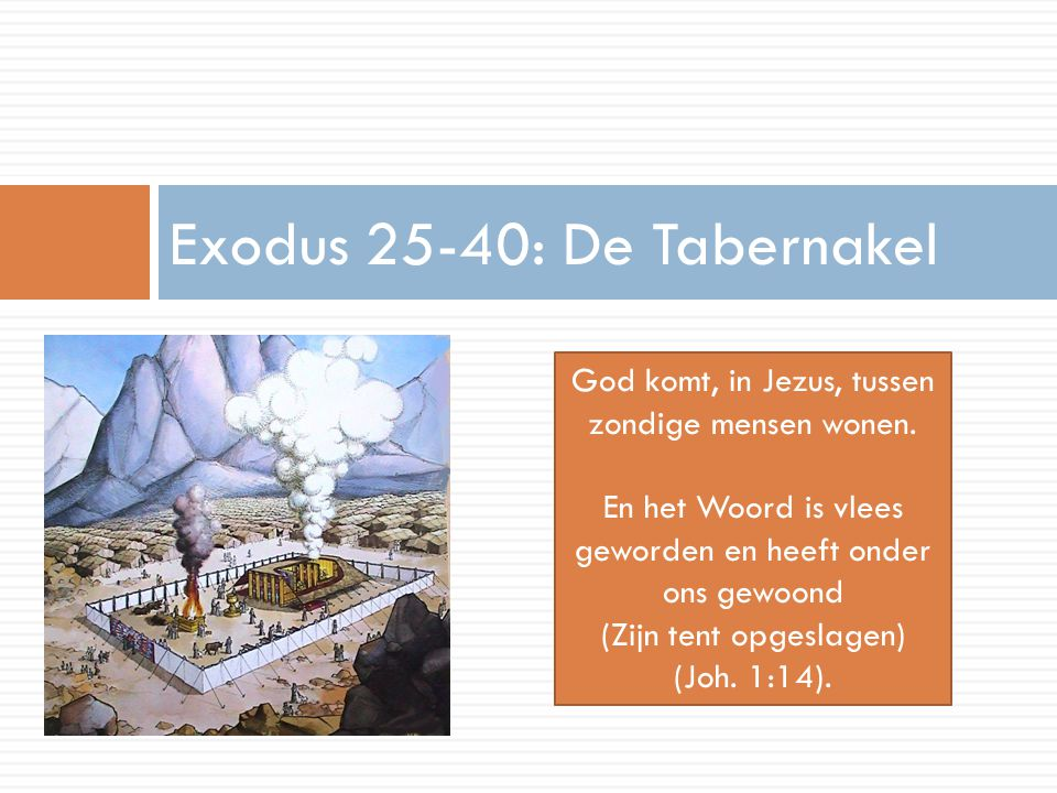 Exodus 25-40: De Tabernakel