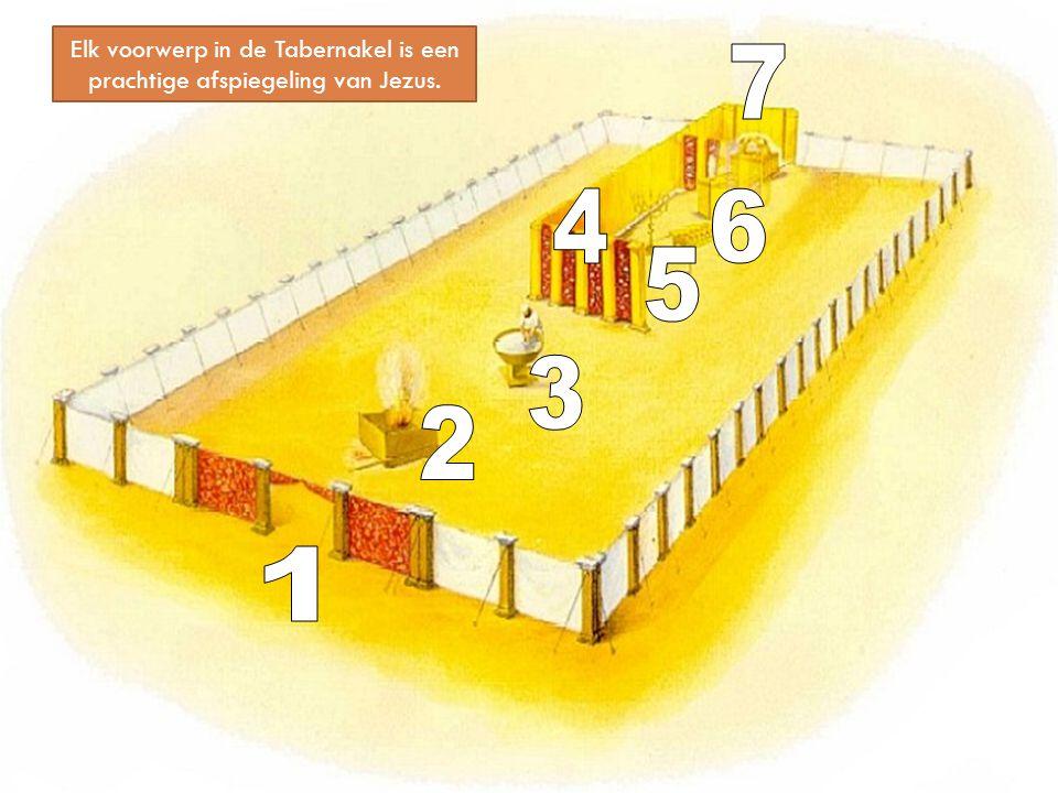 Elk voorwerp in de Tabernakel is een prachtige afspiegeling van Jezus.
