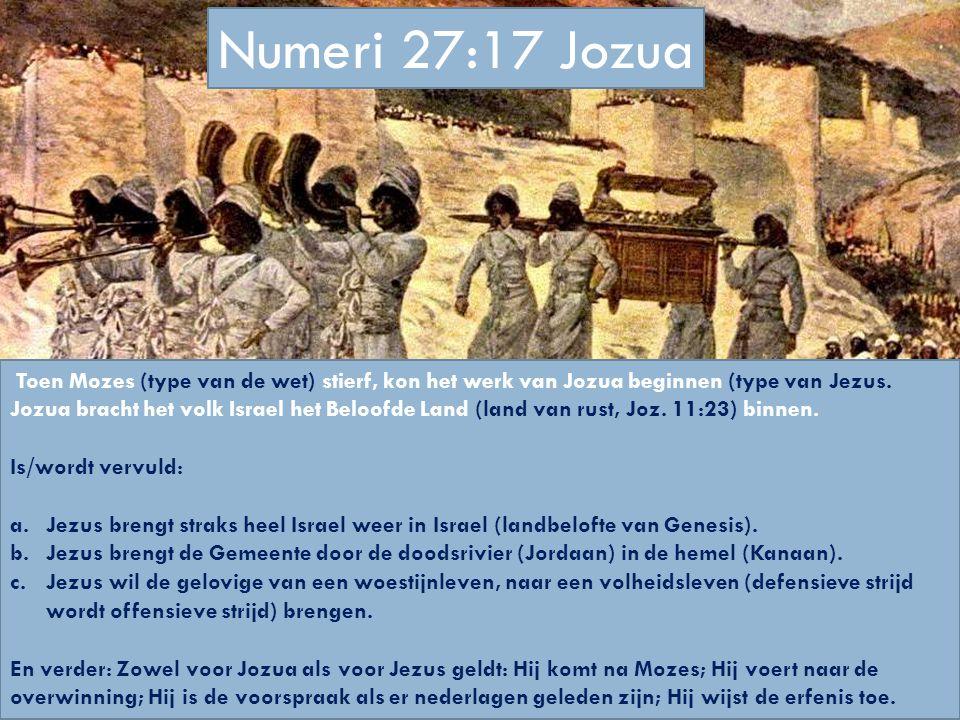 Numeri 27:17 Jozua