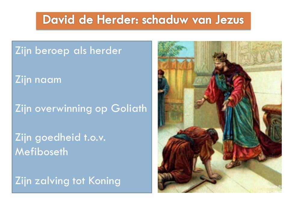 David de Herder: schaduw van Jezus