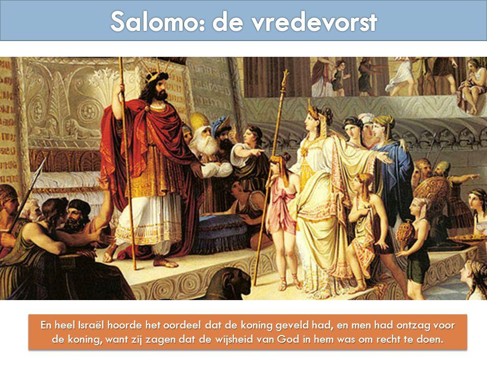 Salomo: de vredevorst