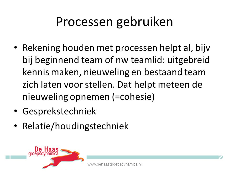 Processen gebruiken