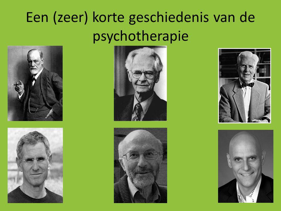 Een (zeer) korte geschiedenis van de psychotherapie