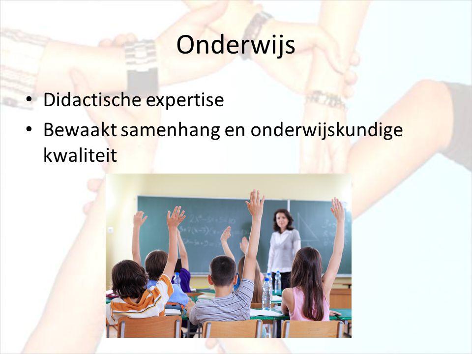 Onderwijs Didactische expertise