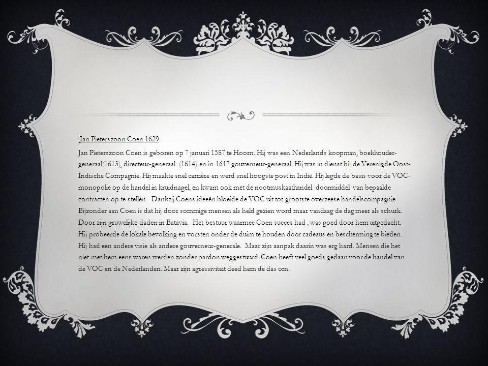 .Jan Pieterszoon Coen 1629