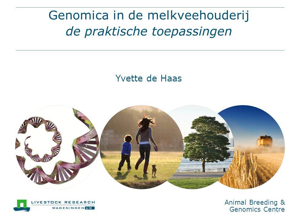 Genomica in de melkveehouderij de praktische toepassingen