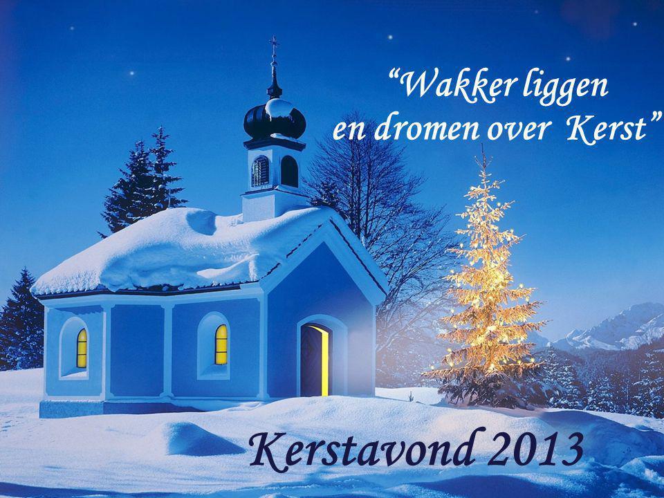 Wakker liggen en dromen over Kerst