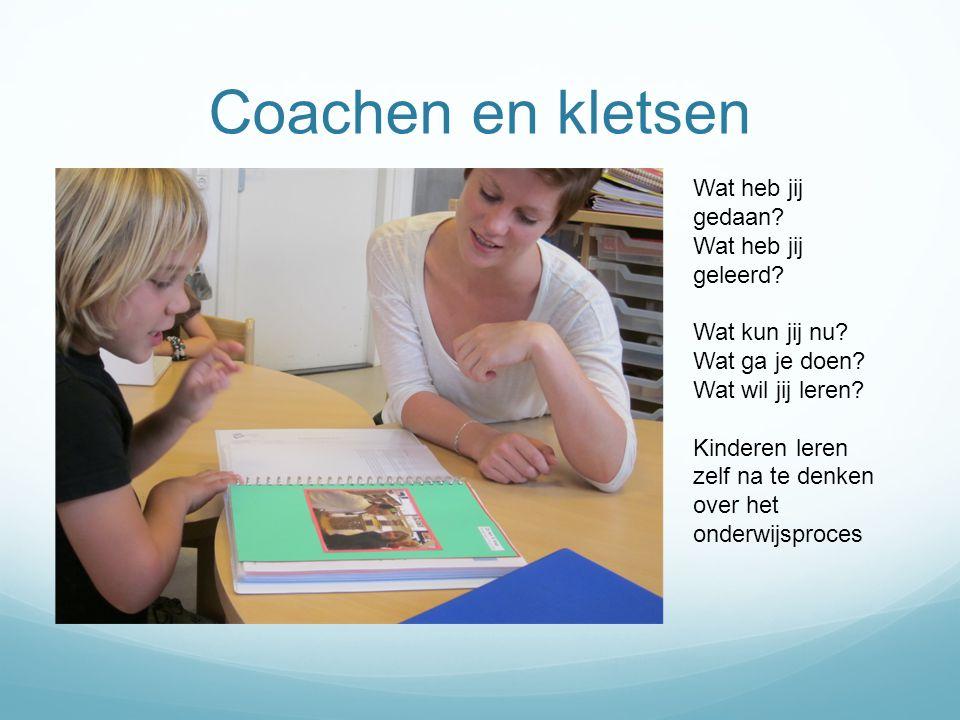 Coachen en kletsen Wat heb jij gedaan Wat heb jij geleerd