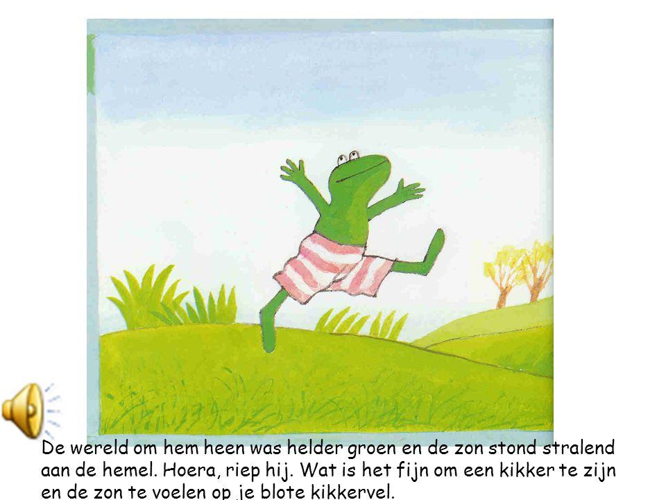 De wereld om hem heen was helder groen en de zon stond stralend aan de hemel.