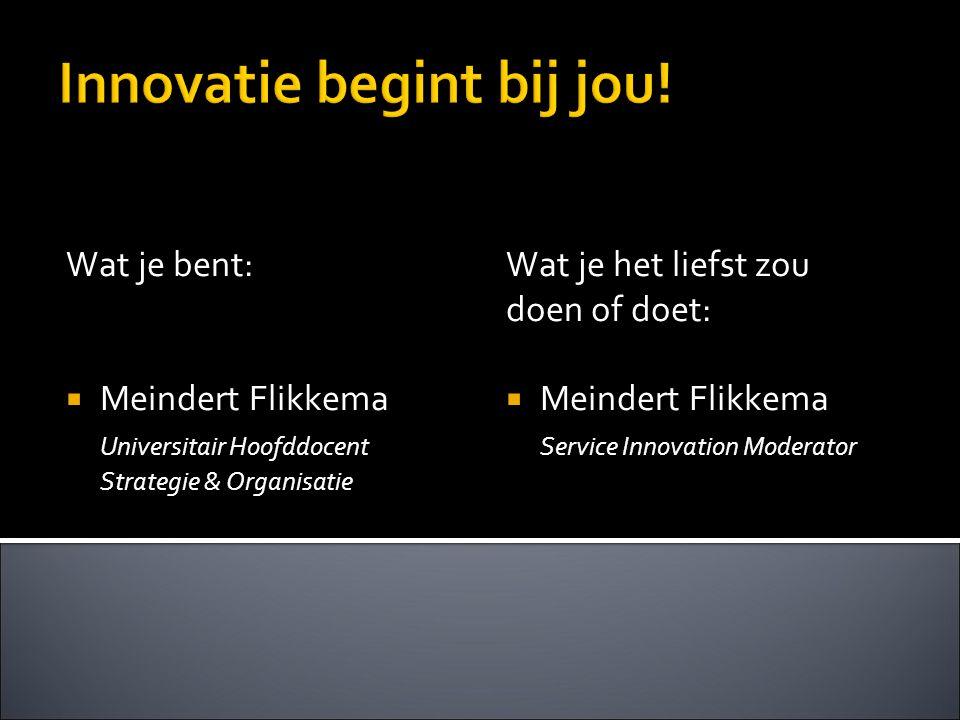 Innovatie begint bij jou!