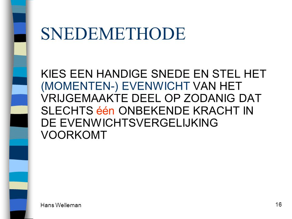 SNEDEMETHODE