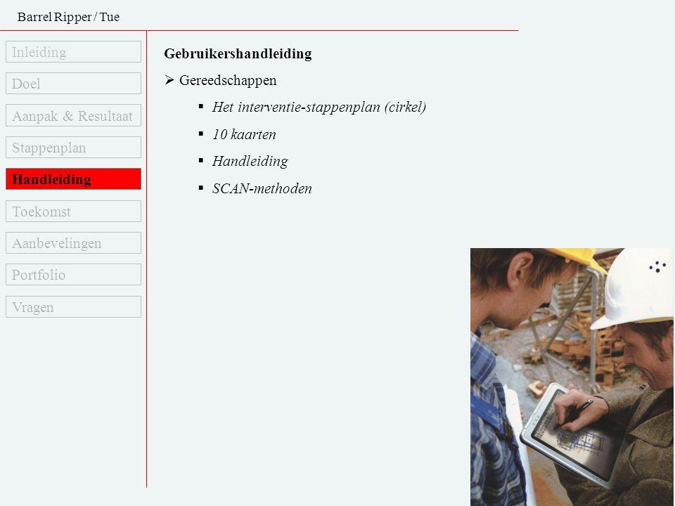Gebruikershandleiding Gereedschappen