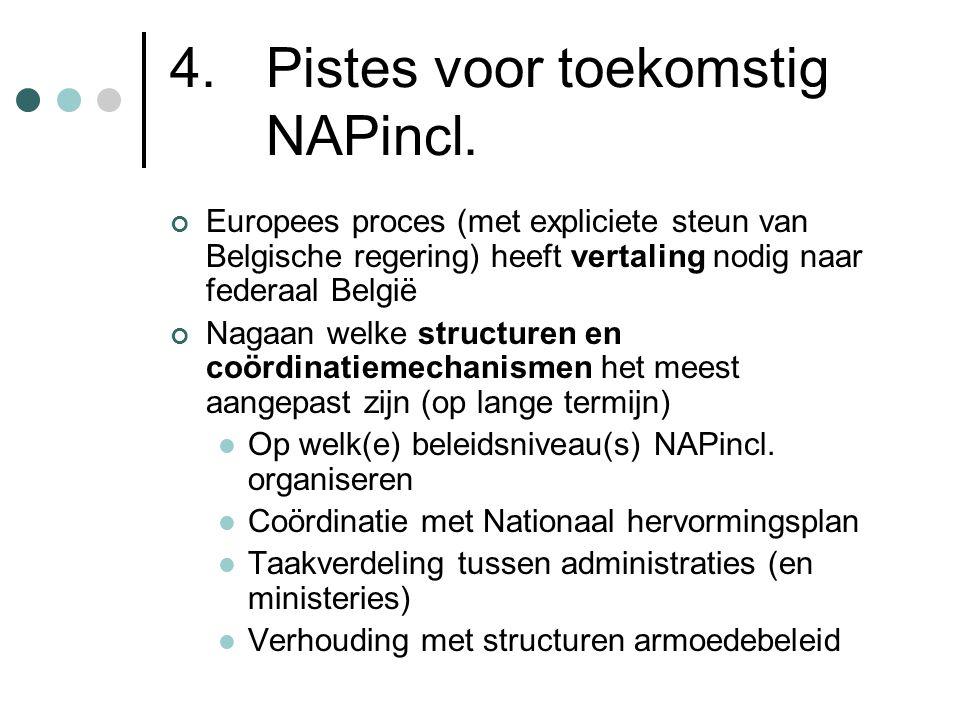 4. Pistes voor toekomstig NAPincl.