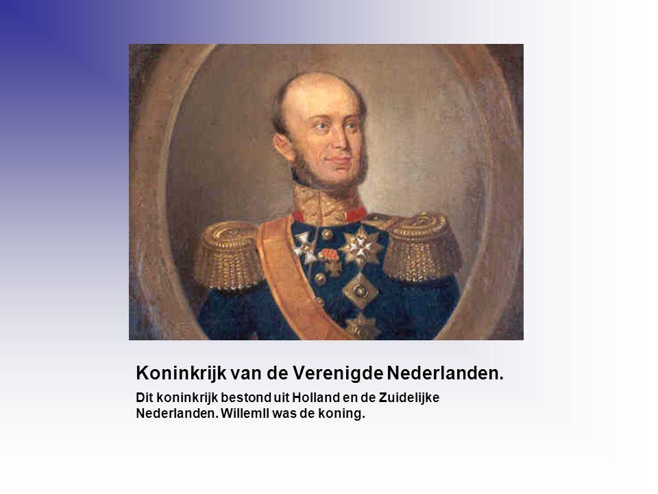 Koninkrijk van de Verenigde Nederlanden.