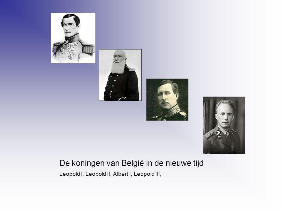 De koningen van België in de nieuwe tijd
