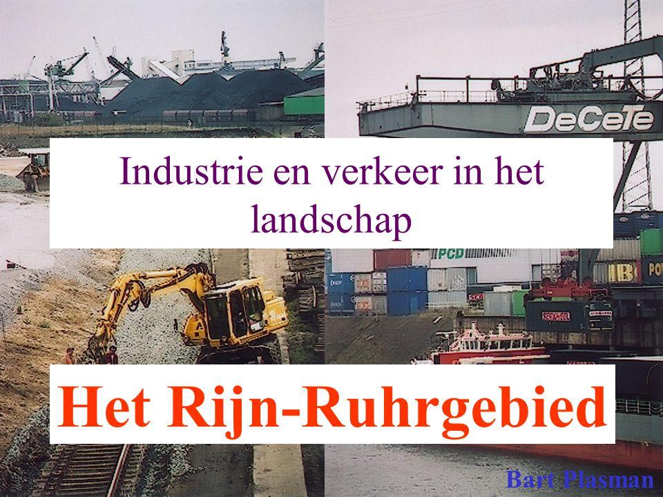 Industrie en verkeer in het landschap