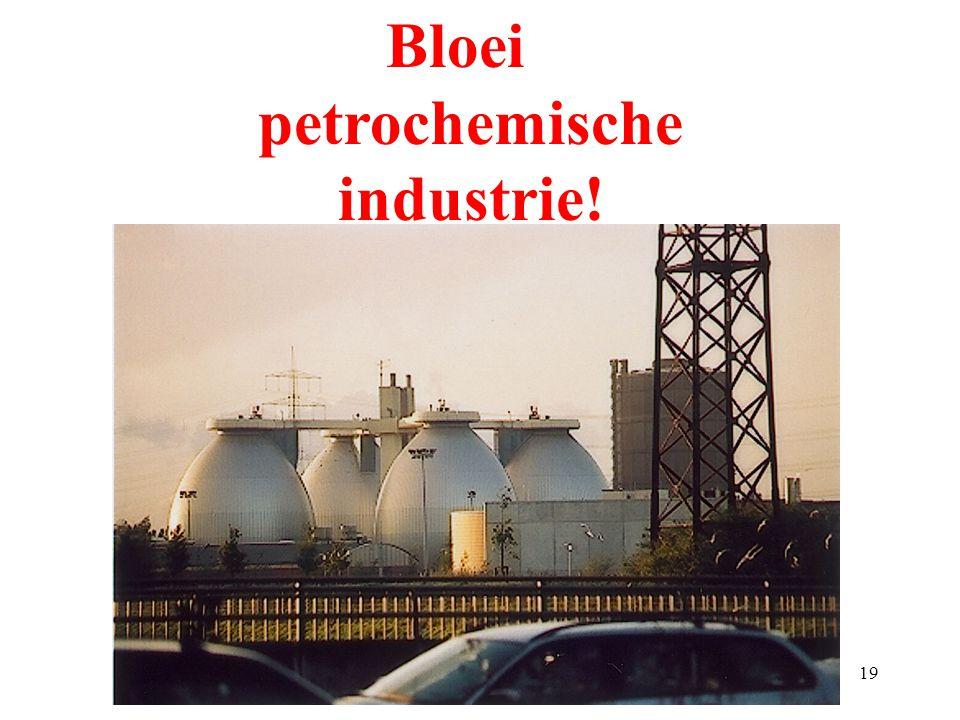 Bloei petrochemische industrie!