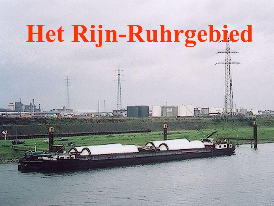 Het Rijn-Ruhrgebied