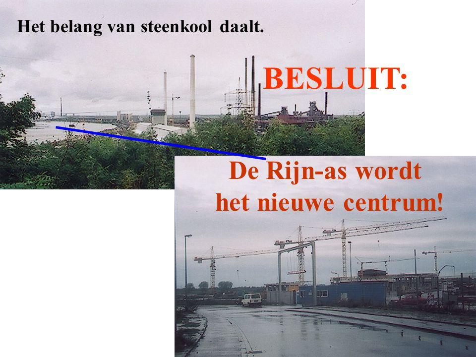 BESLUIT: De Rijn-as wordt het nieuwe centrum!