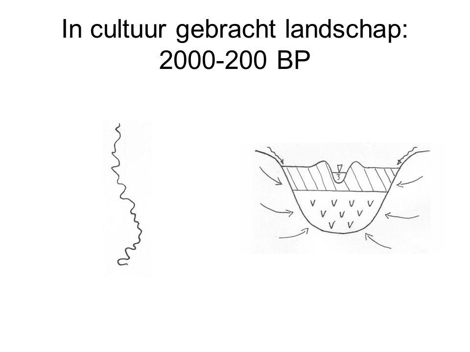 In cultuur gebracht landschap: 2000-200 BP