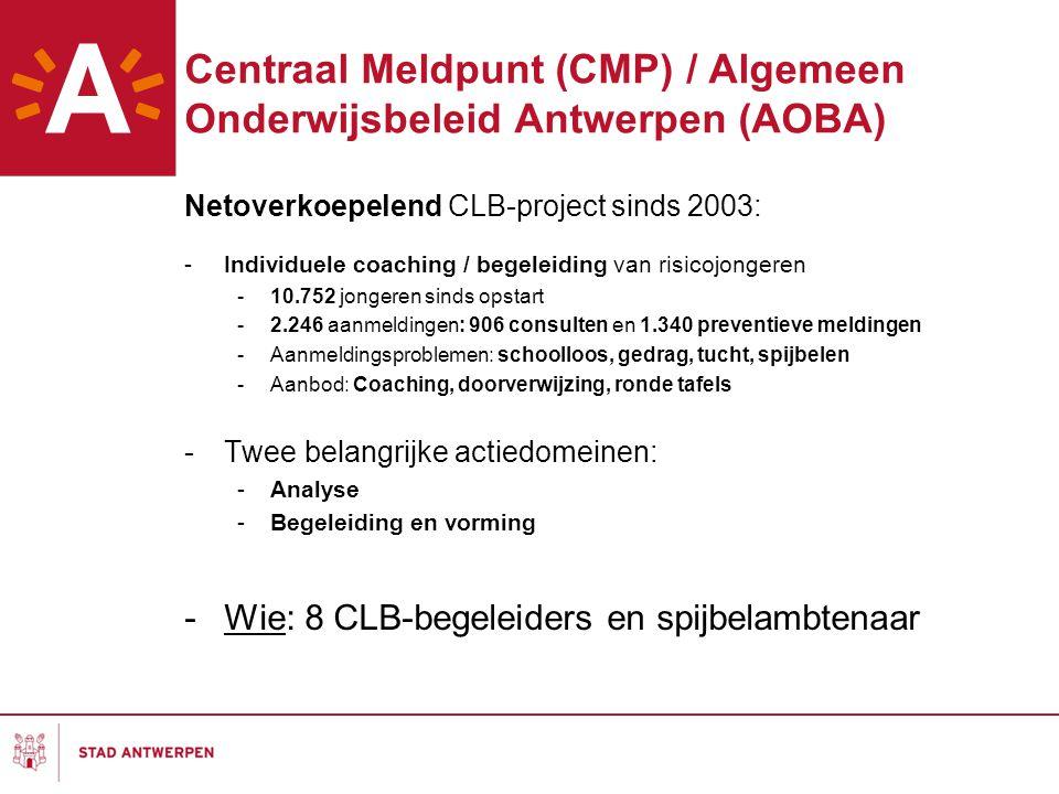 Centraal Meldpunt (CMP) / Algemeen Onderwijsbeleid Antwerpen (AOBA)
