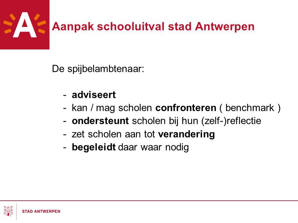 Aanpak schooluitval stad Antwerpen