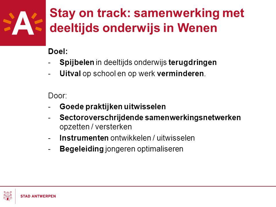 Stay on track: samenwerking met deeltijds onderwijs in Wenen
