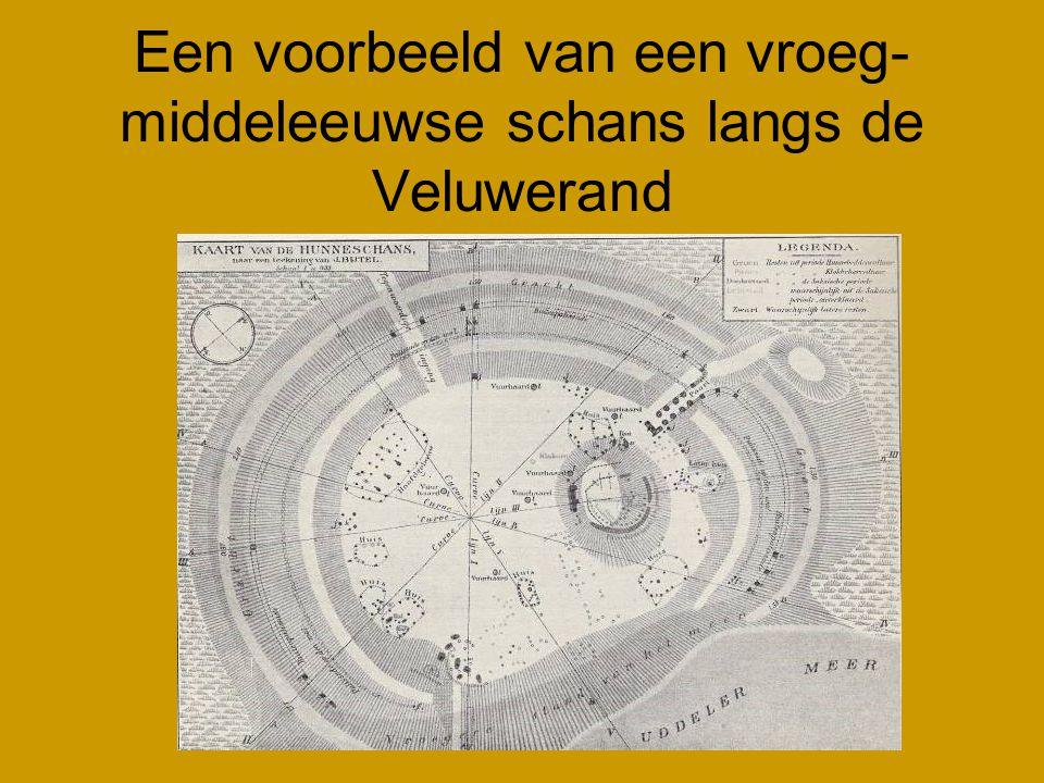 Een voorbeeld van een vroeg-middeleeuwse schans langs de Veluwerand