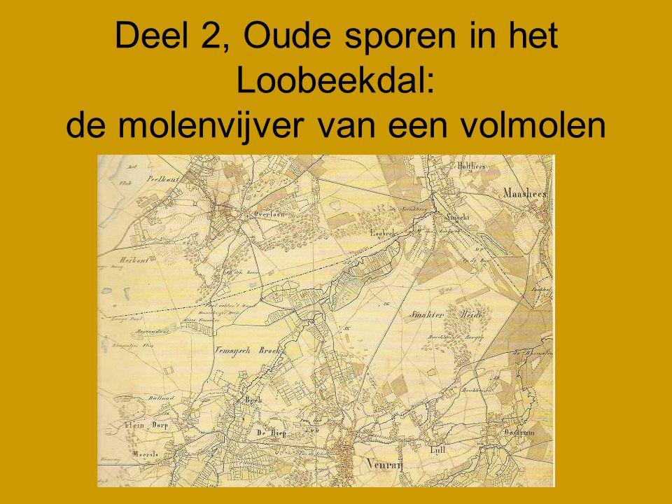 Deel 2, Oude sporen in het Loobeekdal: de molenvijver van een volmolen
