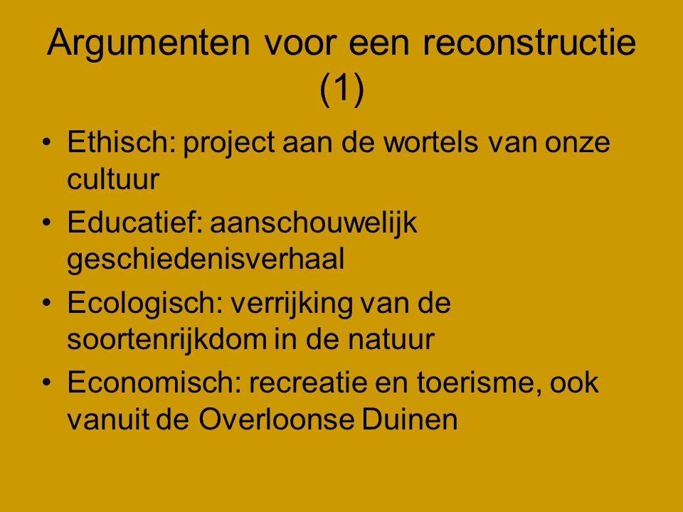 Argumenten voor een reconstructie (1)