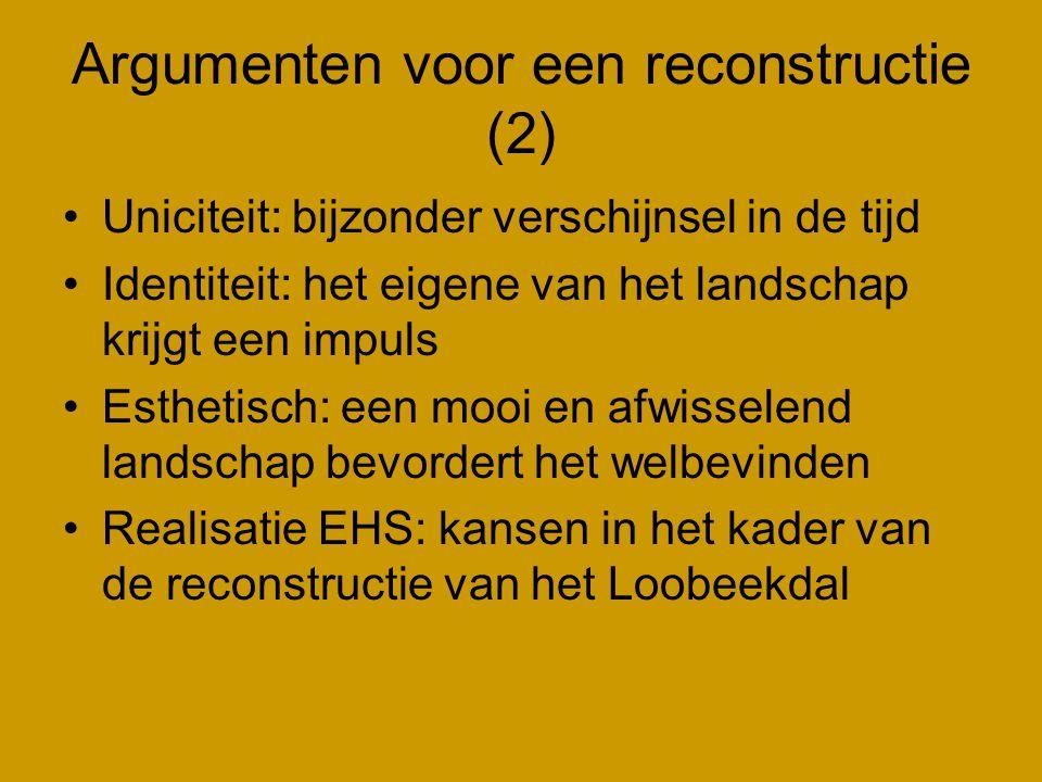 Argumenten voor een reconstructie (2)