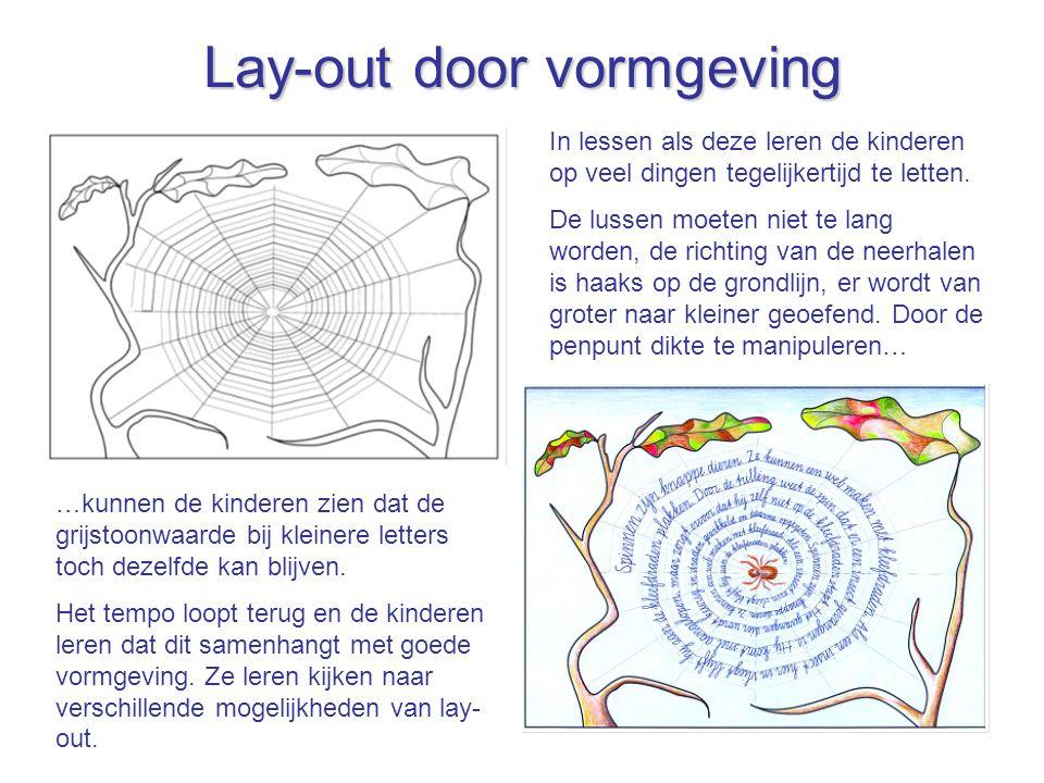 Lay-out door vormgeving