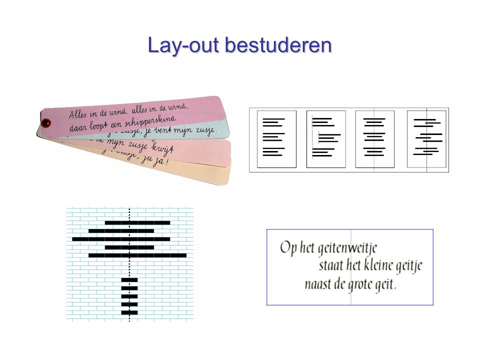 Lay-out bestuderen