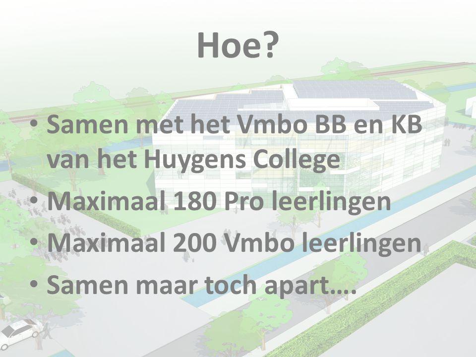Hoe Samen met het Vmbo BB en KB van het Huygens College