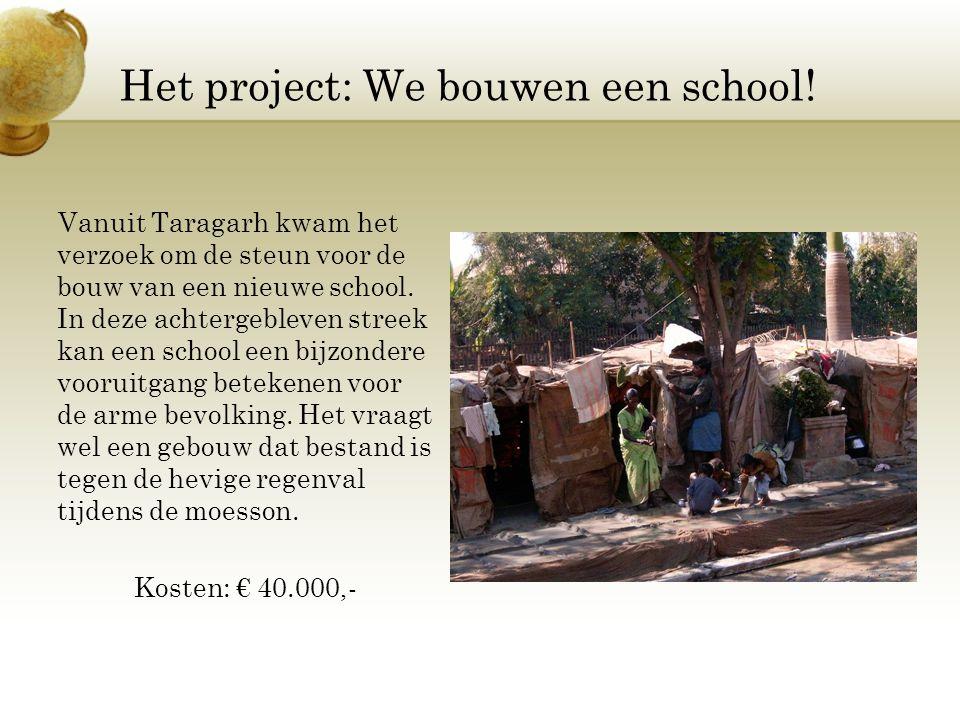 Het project: We bouwen een school!