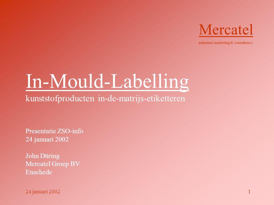 In-Mould-Labelling kunststofproducten in-de-matrijs-etiketteren