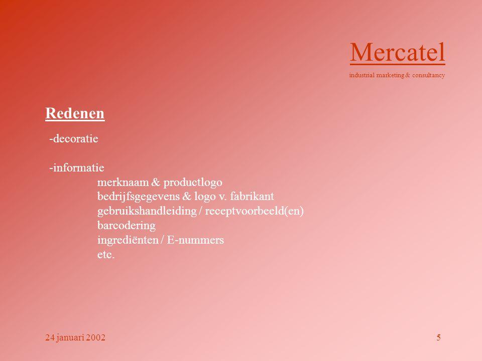 Mercatel Redenen -decoratie -informatie merknaam & productlogo