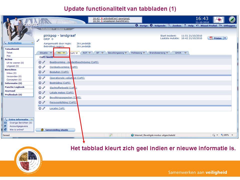 Update functionaliteit van tabbladen (1)